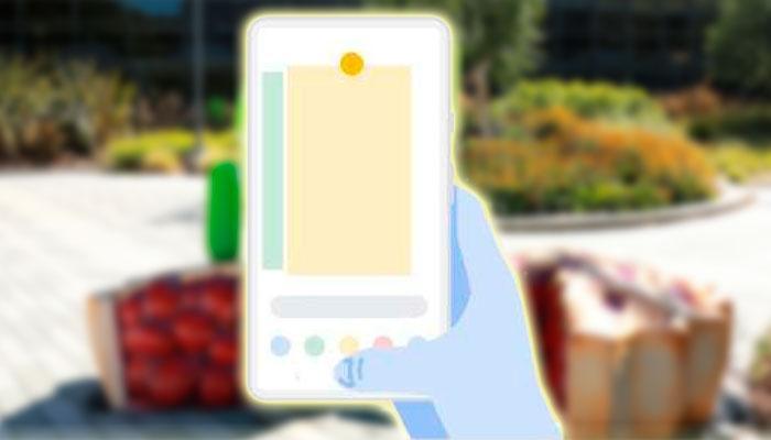 Gestos en Android Pie fondo Android