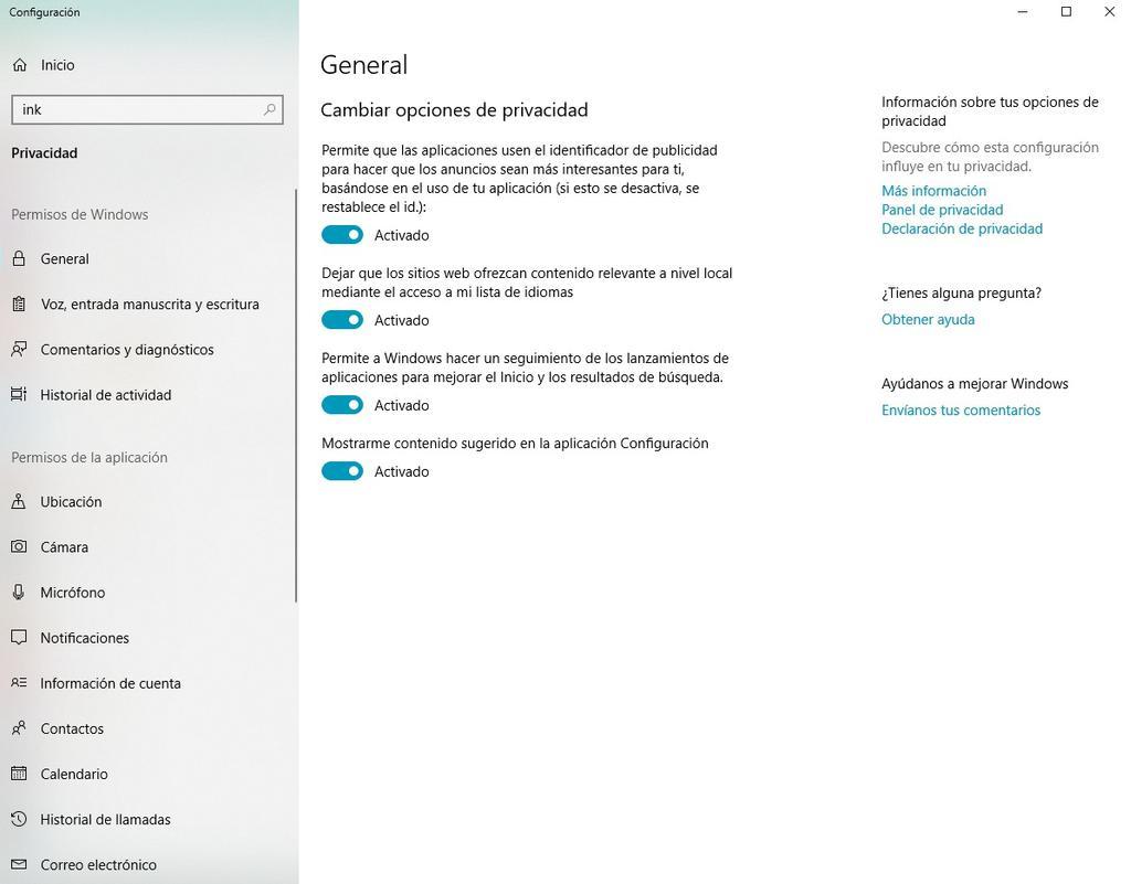 Borrar por completo el diccionario de Windows 10