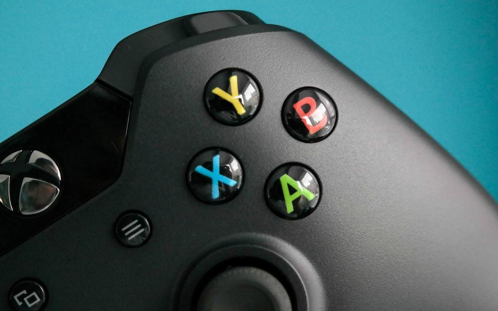 Botones de un mando de Xbox