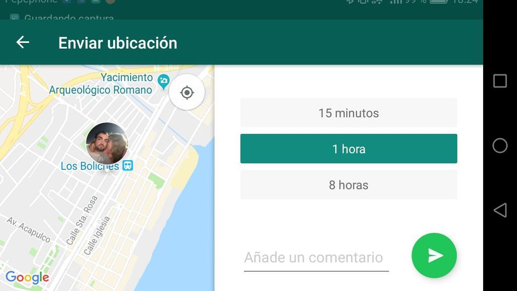 Cómo compartir la ubicación en WhatsApp