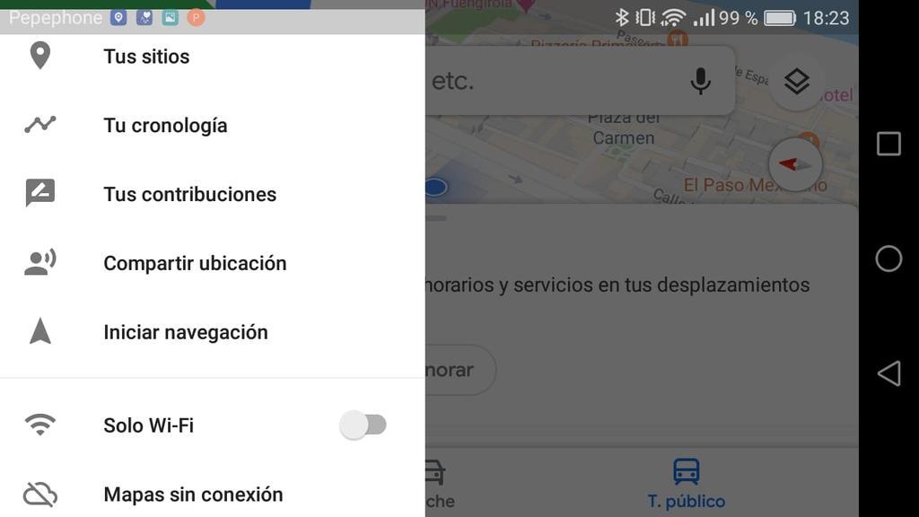 Cómo compartir la ubicación en Google Maps