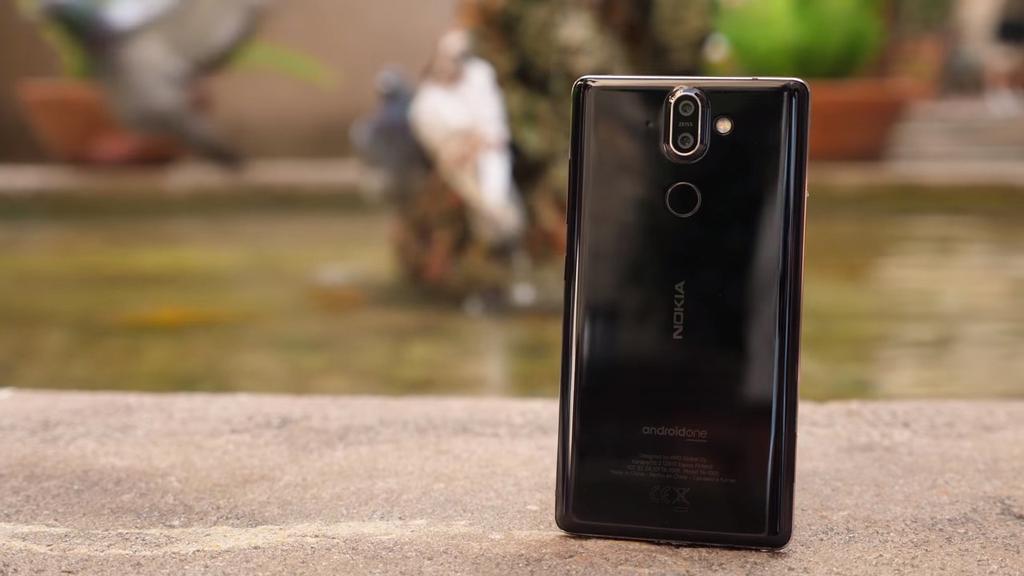 Cámara del teléfono Nokia 8 Sirocco