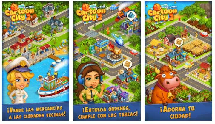 Juego Android Cartoon City