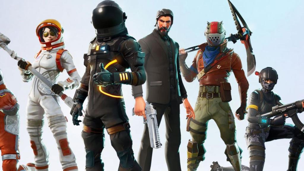 Jugadores de Fortnite para android