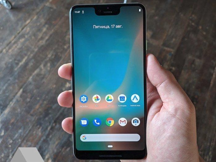 uso del Google Pixel 3 XL