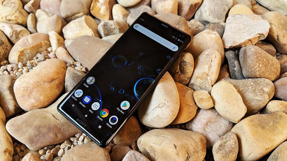 Imagen del teléfono Sony Xperia XZ3