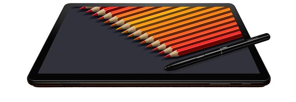 Lateral de la Samsung Galaxy Tab S4
