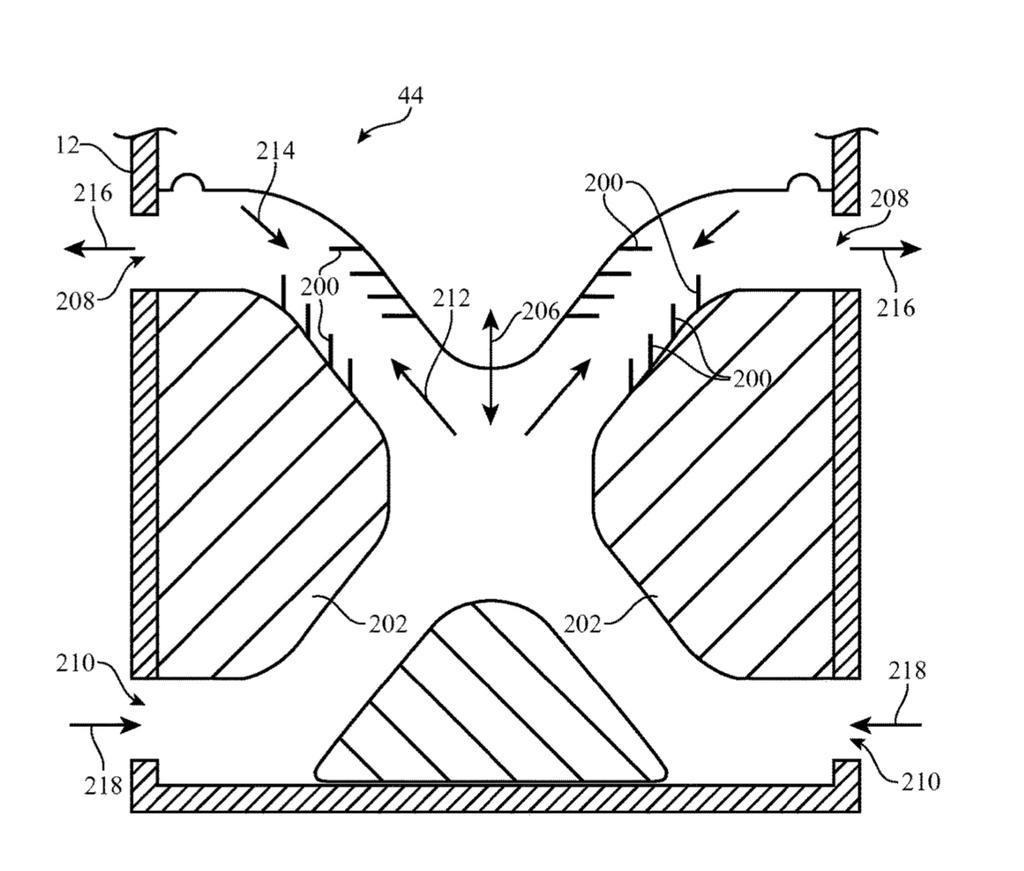 Imagen patente sonido de los iMac de Apple