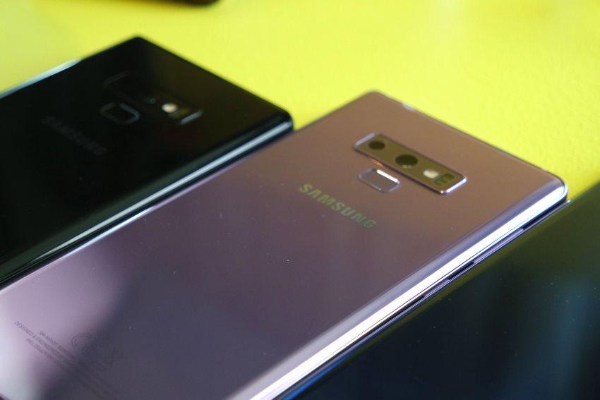 cámara del Samsung Galaxy Note 9 (