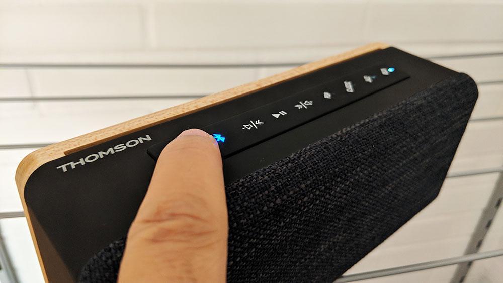 Uso de los botones del Thomson WS04