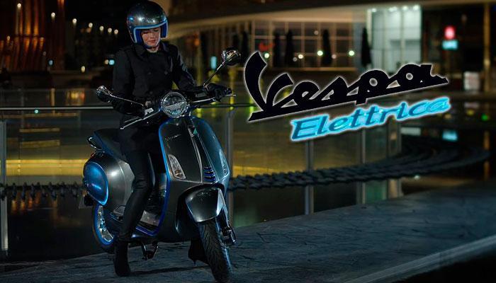 Imagen de Vespa Elettrica con logo