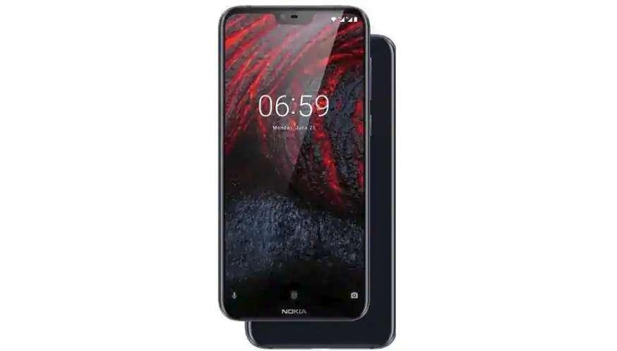 Diseño del Nokia 6.1 Plus