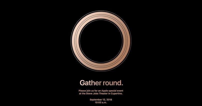 presentación de los iPhone XS