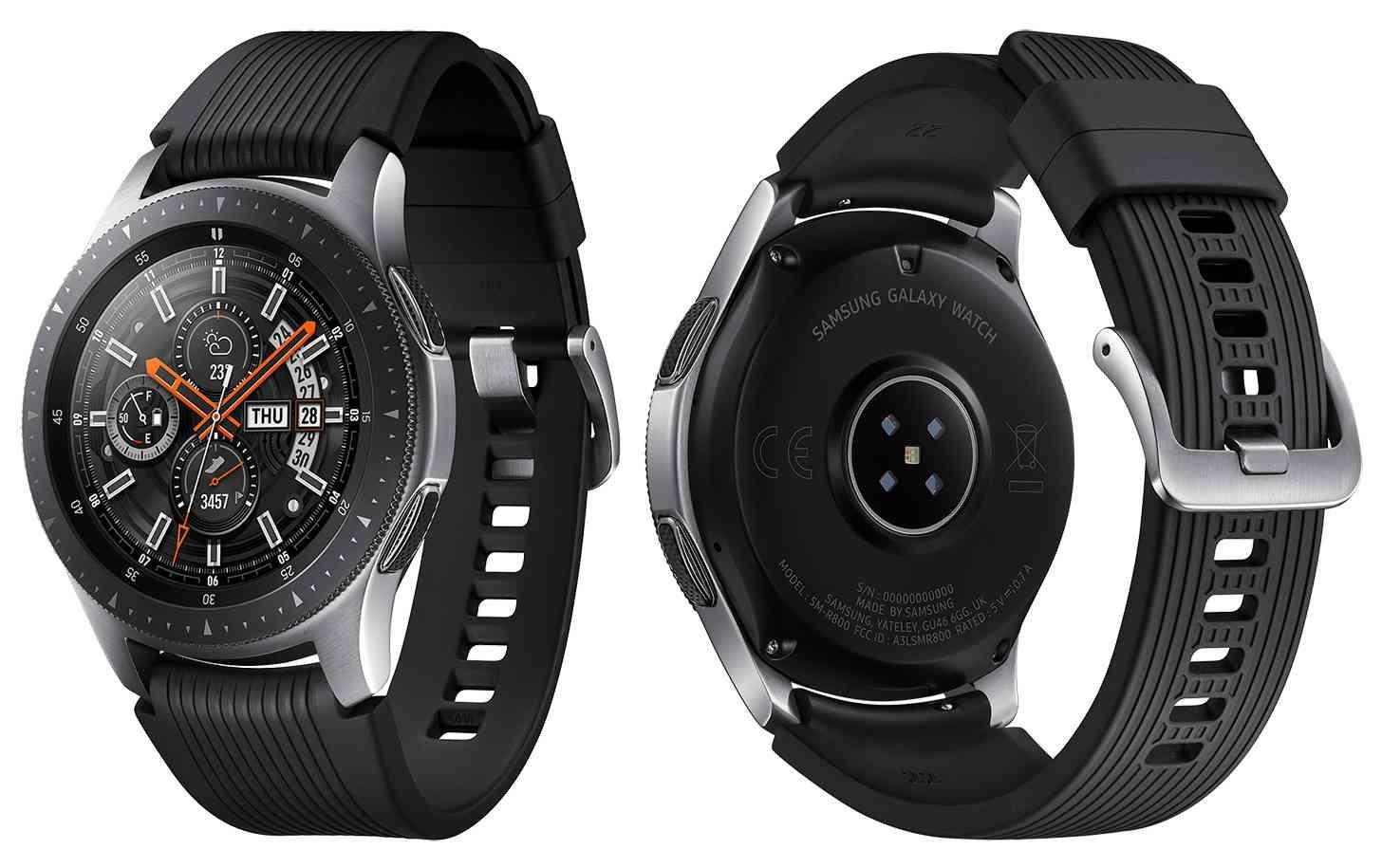 samsung galaxy watch de color negro