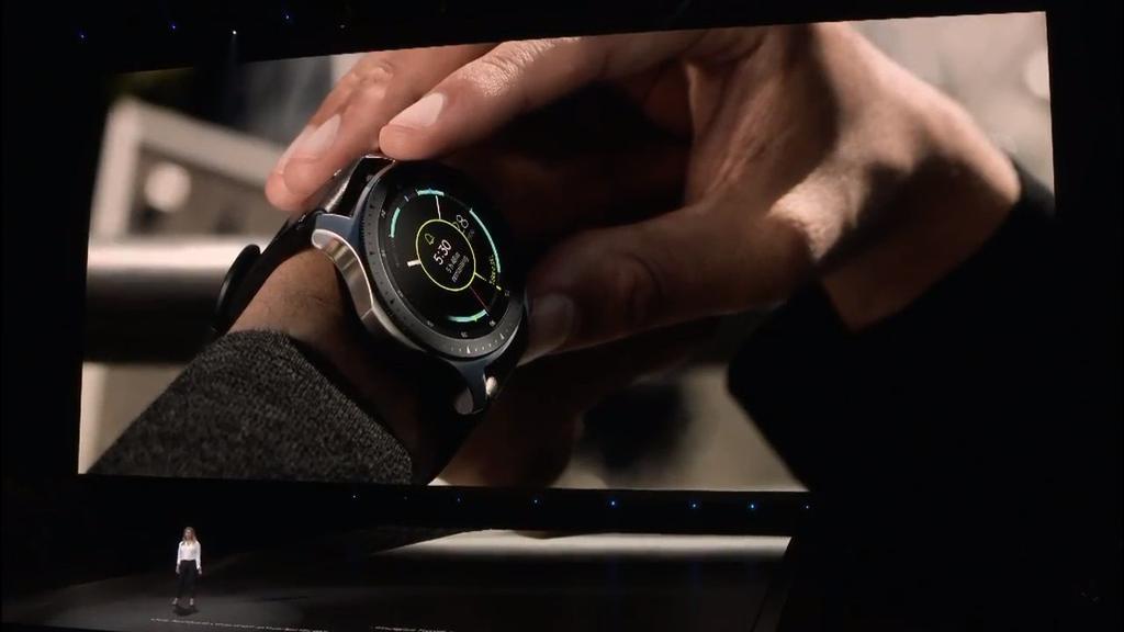 Imagen del smartwatch Samsung Galaxy Watch