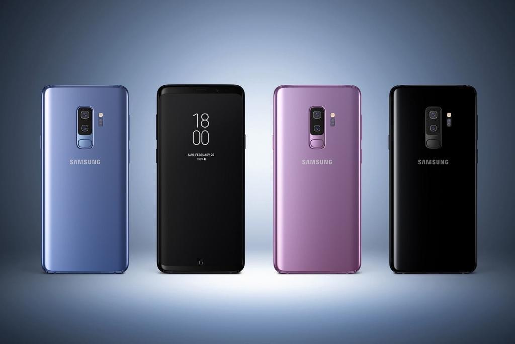 Samsung Galaxy S9 Plus por detrás