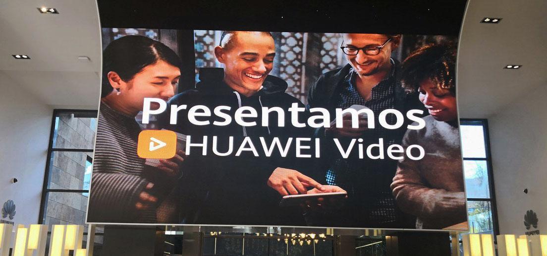 Presentación Huawei Video