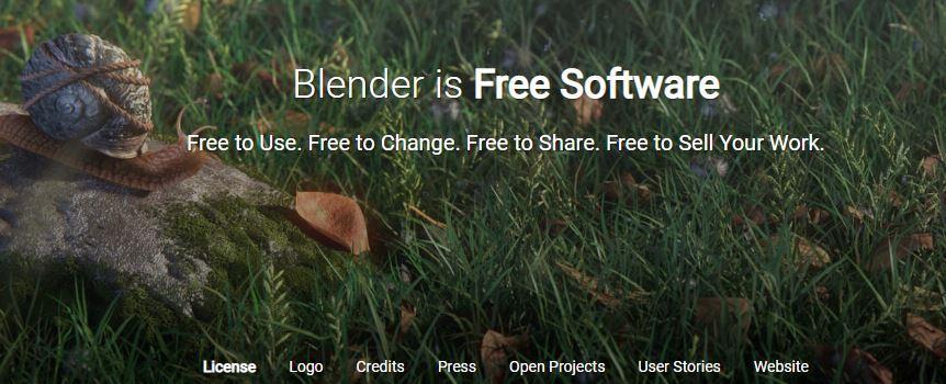 Web aplicación Blender