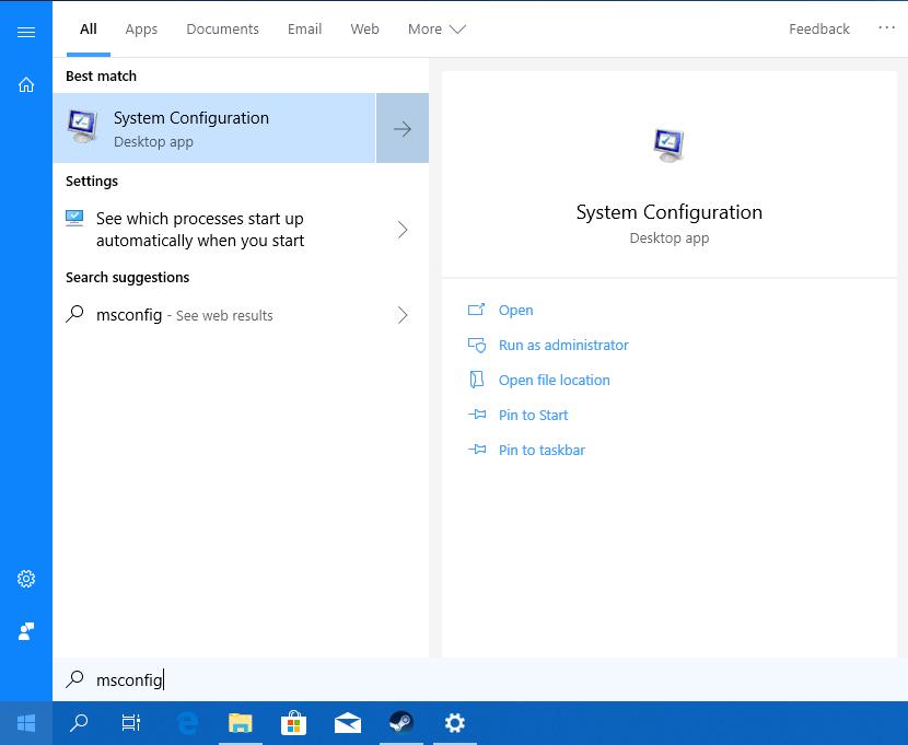 Nuevas búsquedas en Windows 10 October 2018 Update