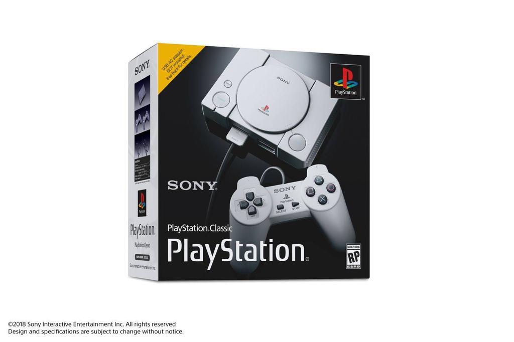 Caja de la PlayStation Classic