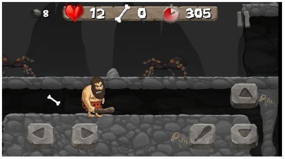 Juego Caveman Chuck Adventure