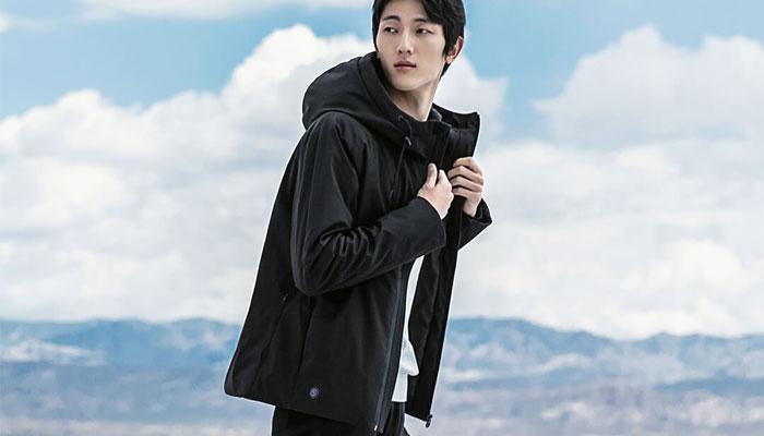 Imagen chaqueta de Xiaomi con calefacción