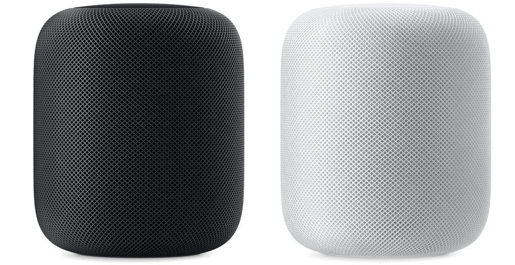 Dos colores de Apple HomePod