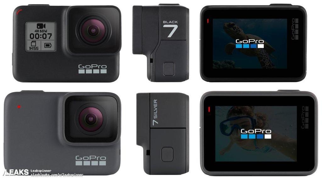 Aspecto de la cámara deportiva GoPro Hero7