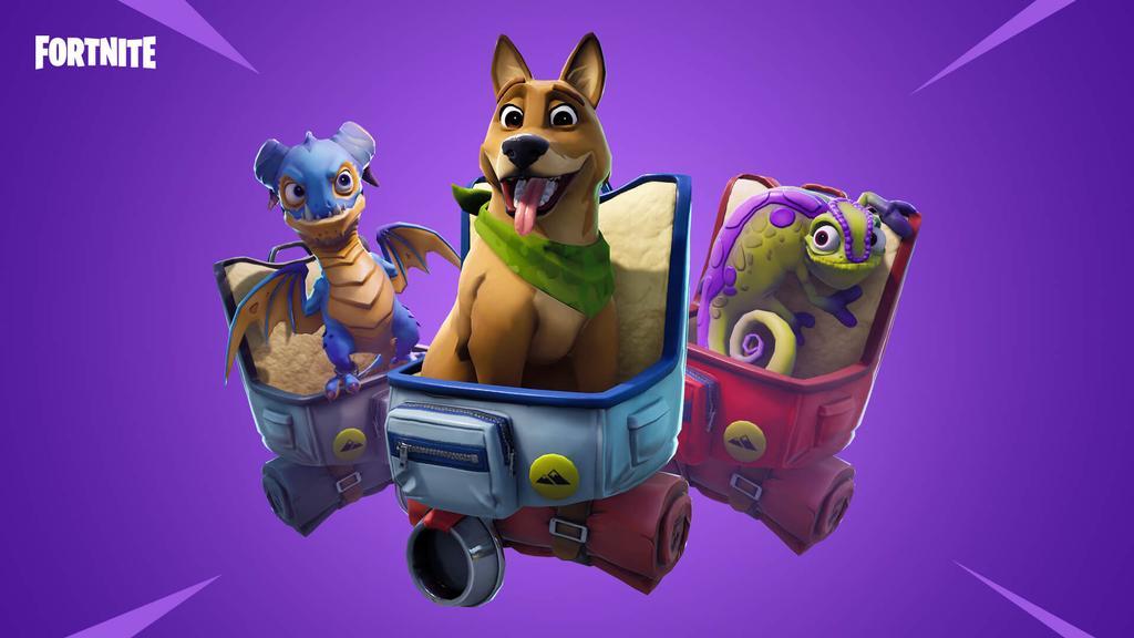 Nuevas mascotas en Fortnite