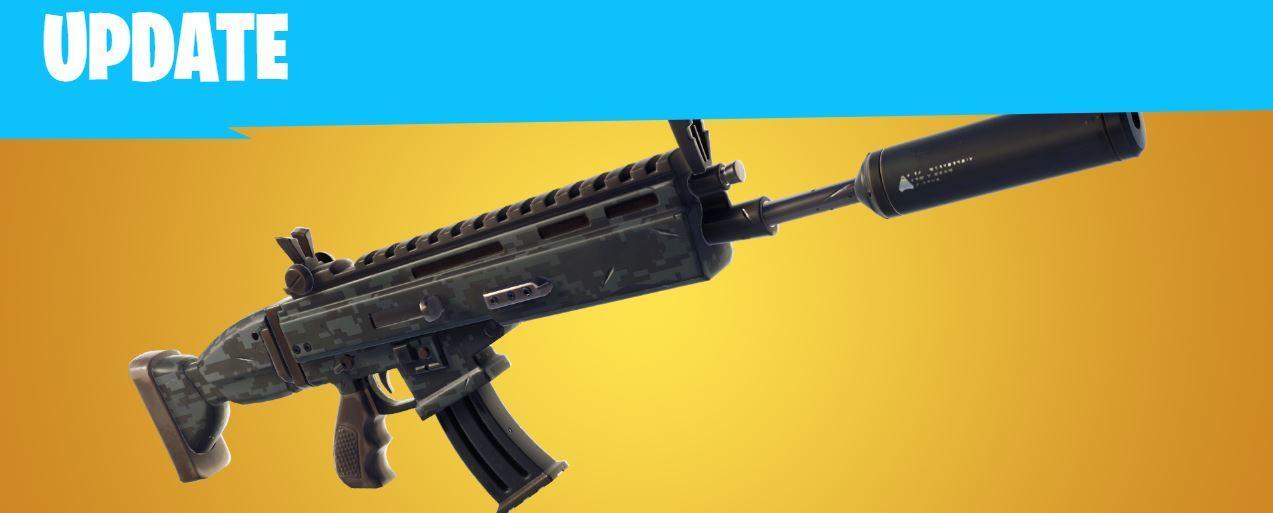 Nueva arma de Fortnite 5.40