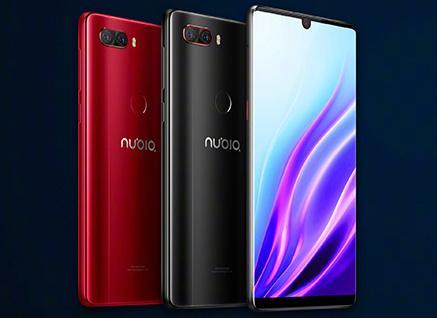 Colores disponibles del Nubia Z18