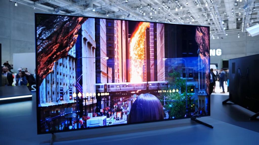 televisor Samsung QLED 8K