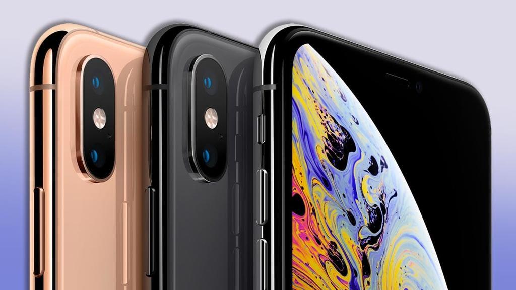 iPhone XS por detrás y por delante