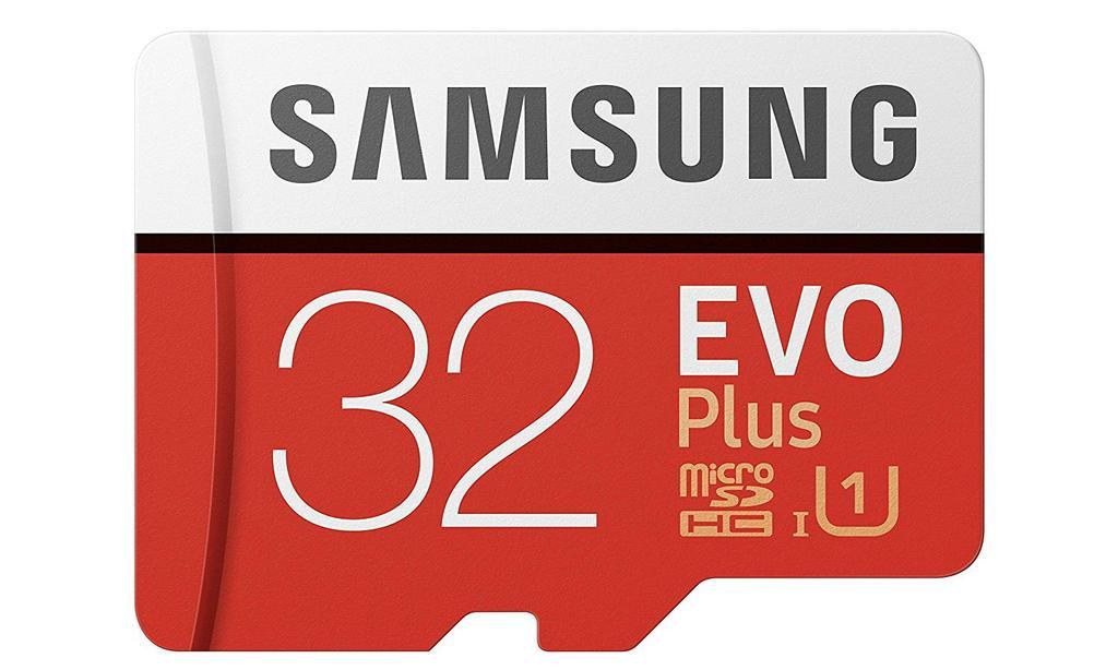 Tarjeta Samsung EVO Plus de 32 GB
