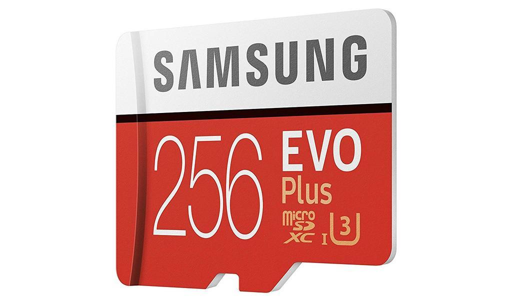 Tarjeta Samsung EVO Plus de 256 GB