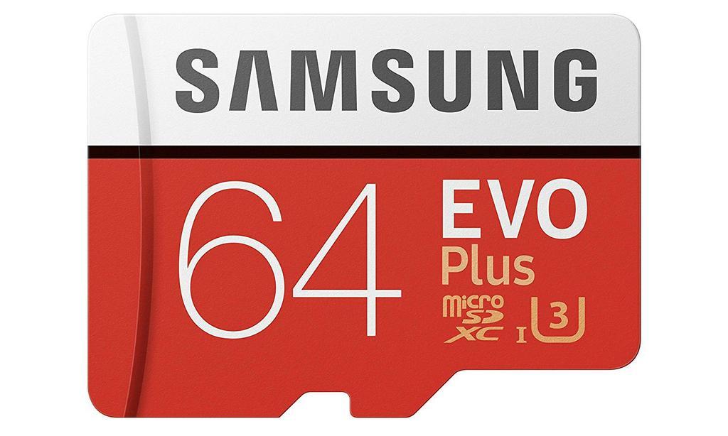 Tarjeta Samsung EVO Plus de 64 GB