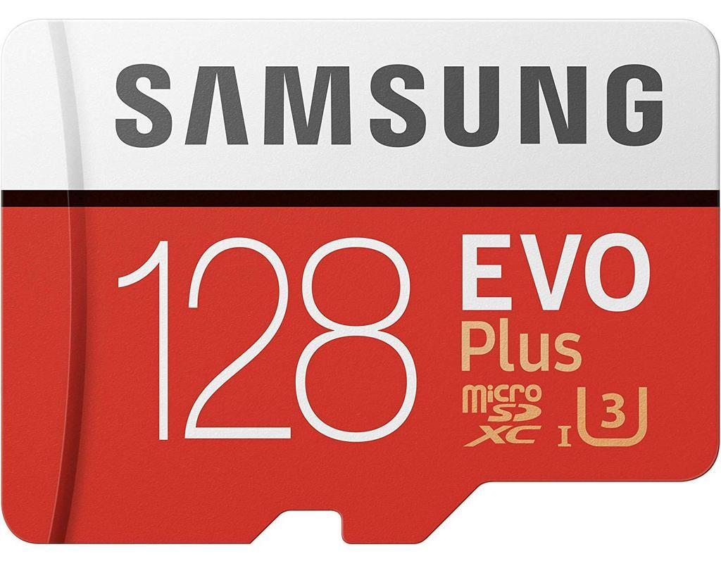 Tarjeta Samsung EVO Plus de 128 GB