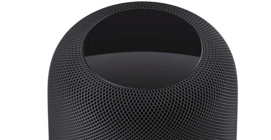 Imagen parte superior de Apple HomePod