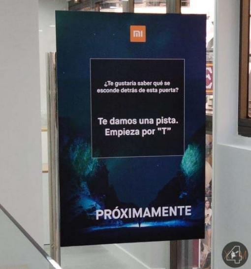 Anuncio de la llegada de la TV de Xiaomi