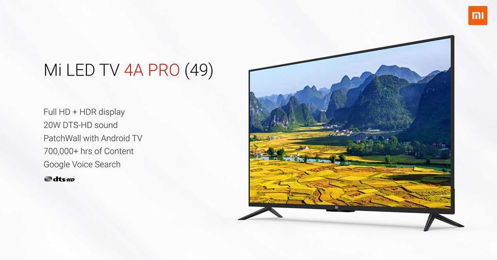 TV de Xiaomi Mi LED 4A Pro