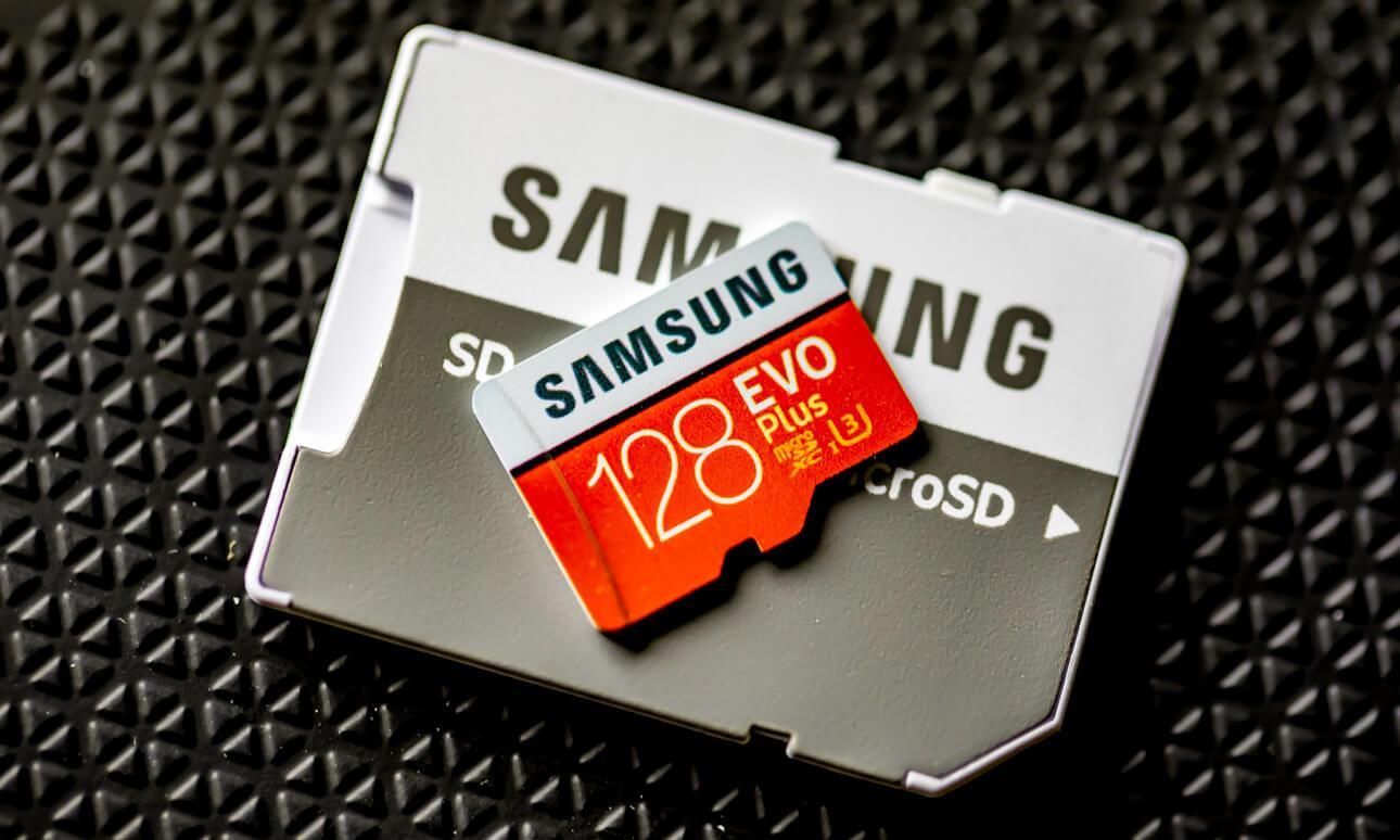 Tarjeta microSD Samsung EVO