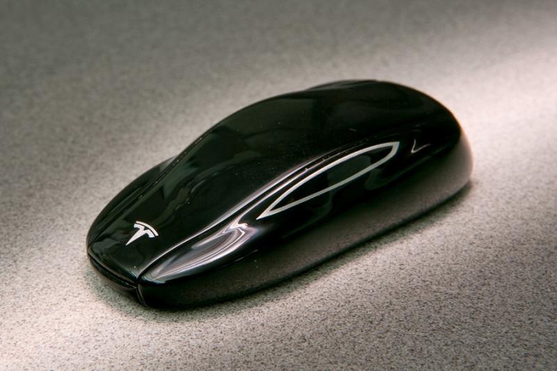 Llave del Tesla Model S