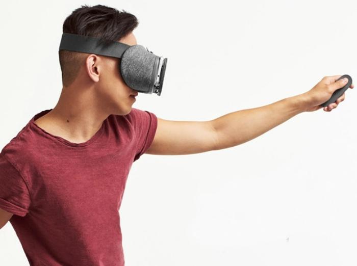 Uso gafas Google DayDream