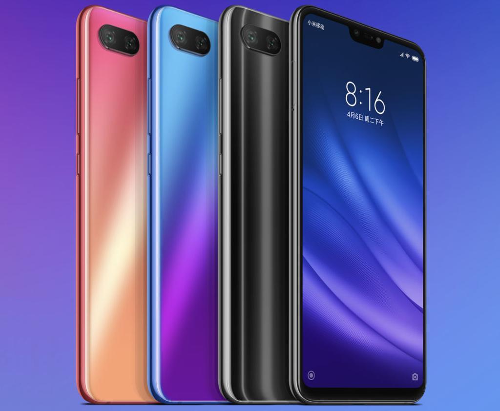 Colores del Xiaomi Mi 8 Lite