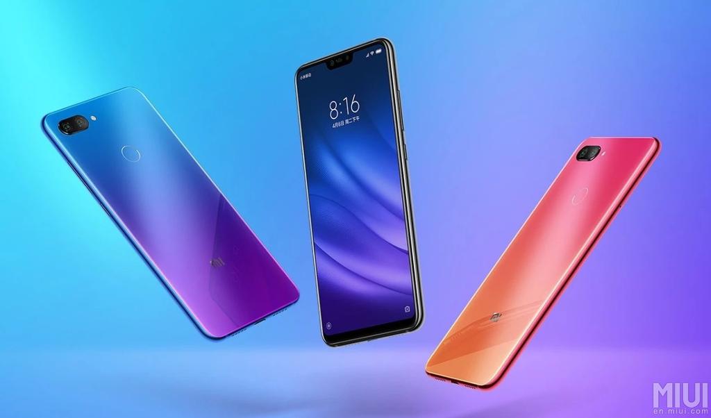 Diseño del Xiaomi Mi 8 Lite