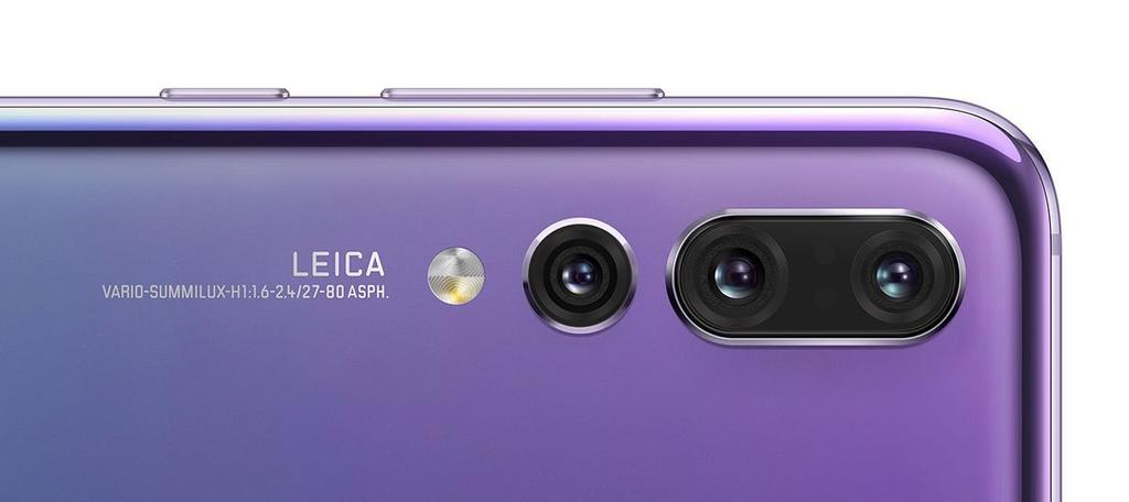 Sensores del Huawei P20 Pro