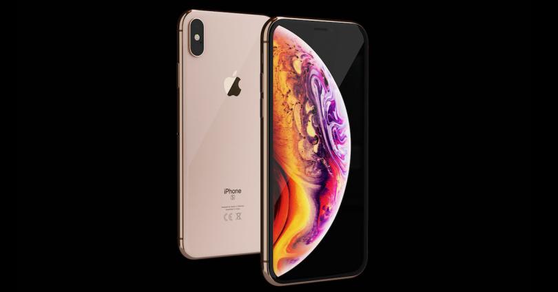 iPhone XS por delante y por detrás