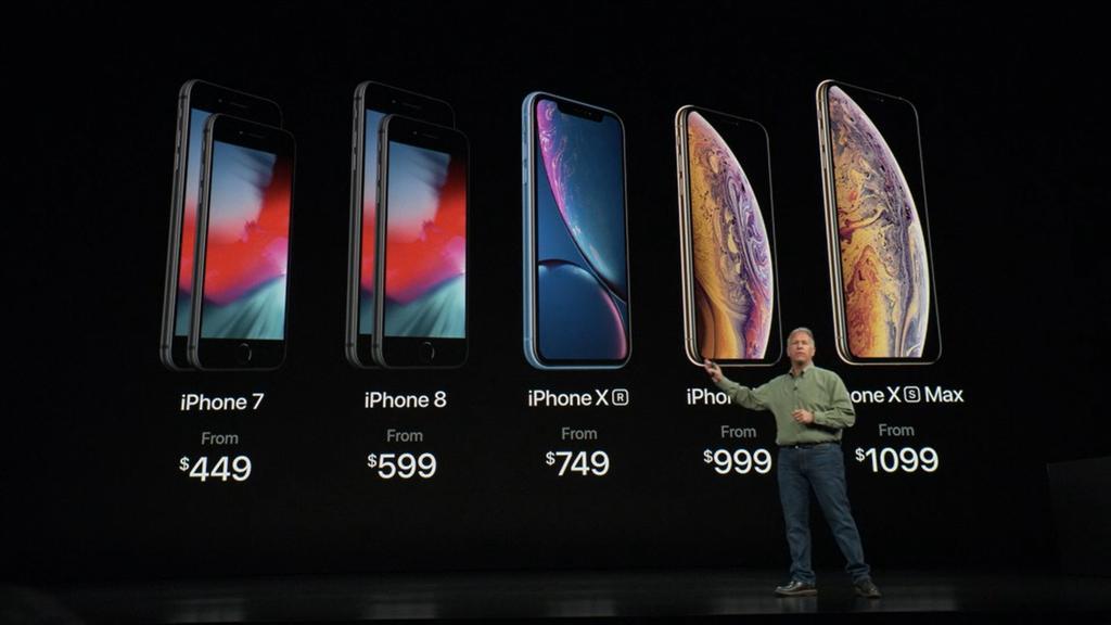 Precios del iPhone Xs