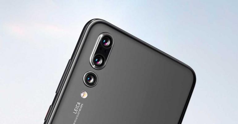 Cámara trasera del Huawei P20 Pro