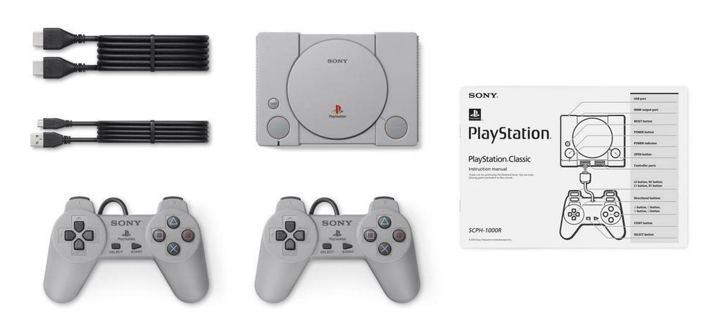 Componentes de la PlayStation Classic